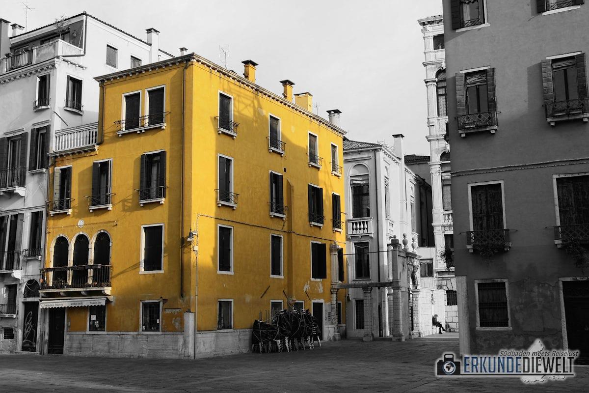 Color-Key Bild - Gelbes Haus