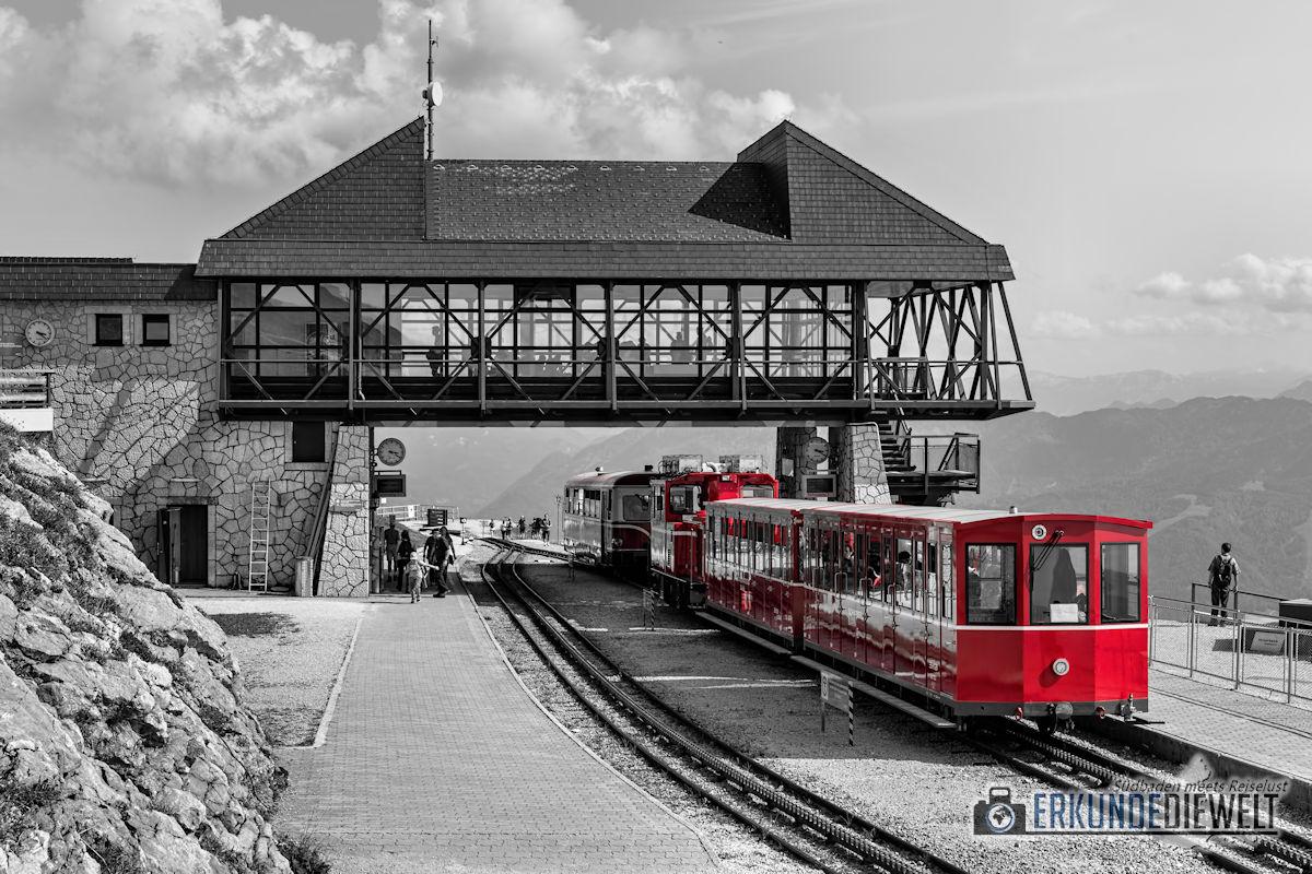 Color-Key Bild - Schafbergbahn