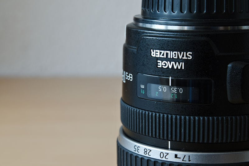 Canon EF-S 17-55 /2,8 IS USM