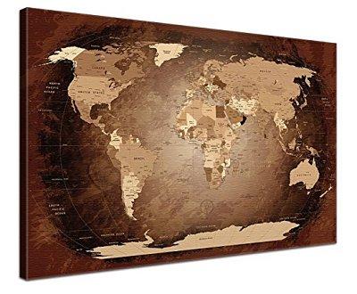 antiker Weltkarte als Geschenkidee