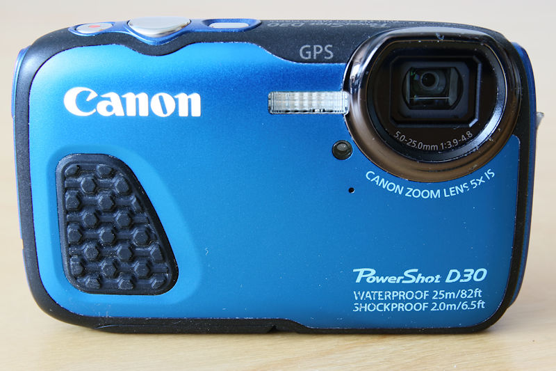 Unterwasserkamera Canon PowerShot D30 im Test