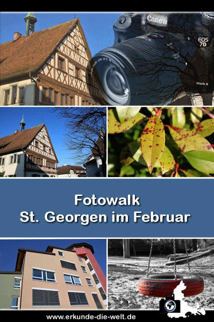 Fotowalk - Freiburg St. Georgen im Februar