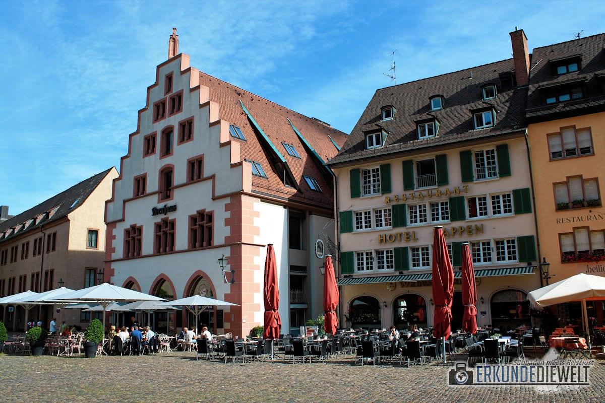 Münsterplatz, Freiburg, Deutschland