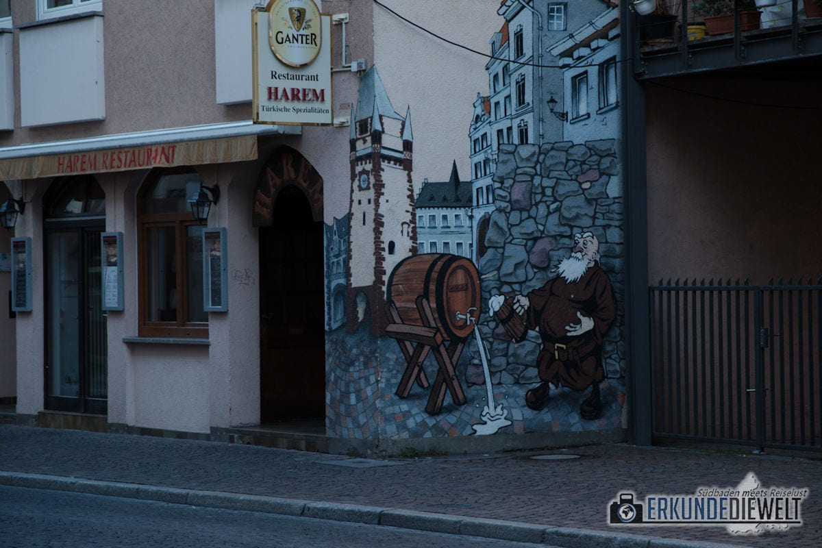 Altstadt, Freiburg, Deutschland