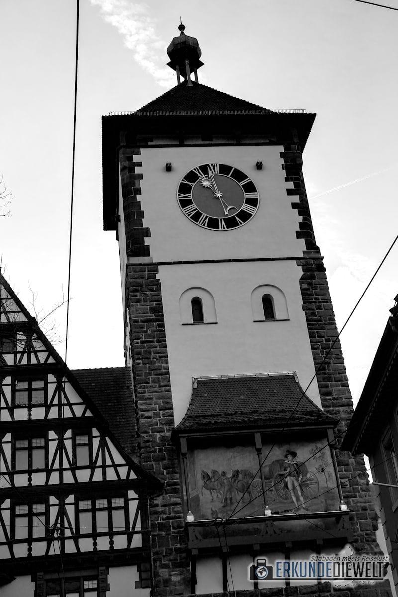 Schwabentor, Freiburg, Deutschland