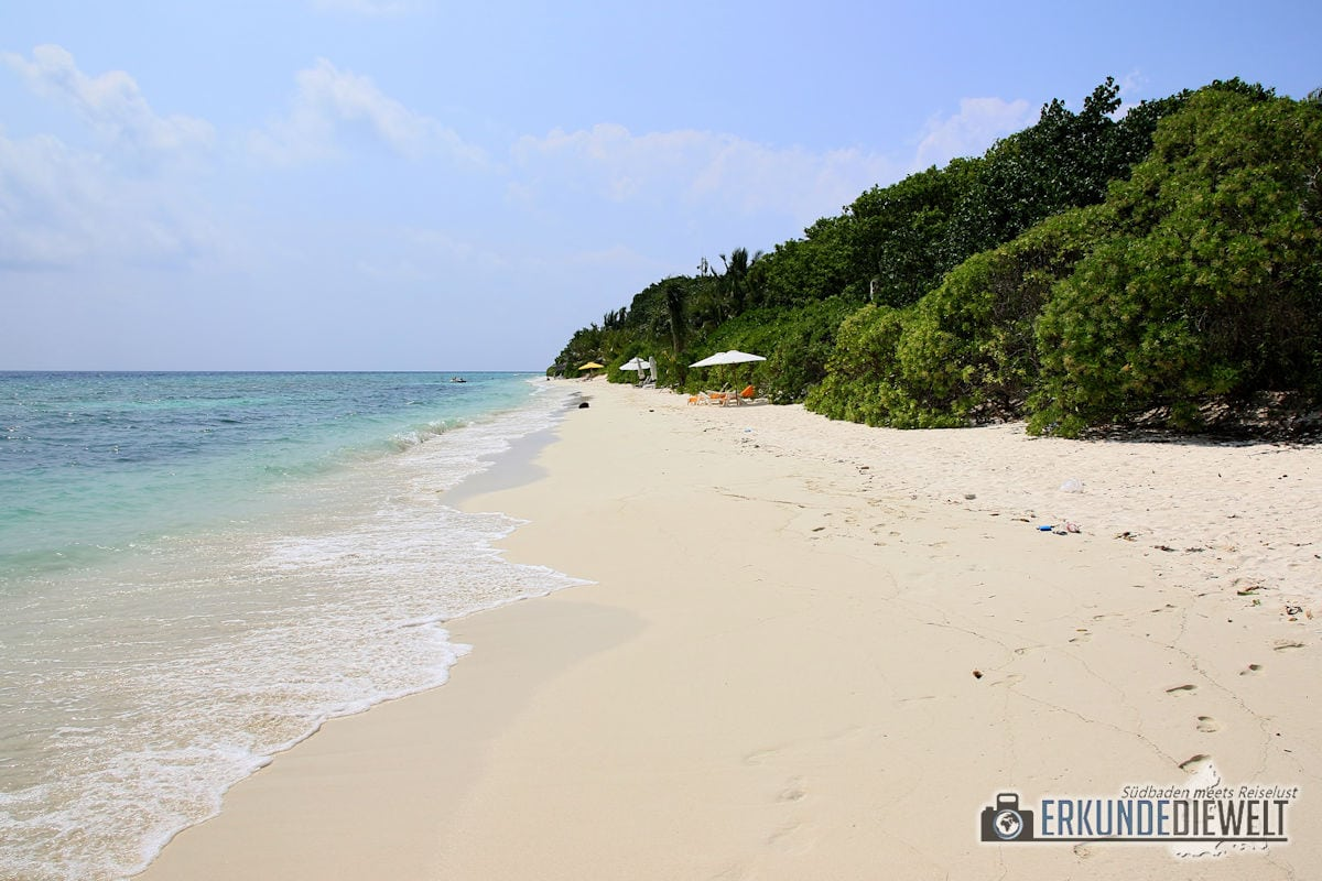 Strand, Ukulhas, Malediven