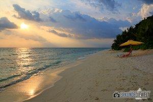 Sonnenuntergang, Ukulhas, Malediven