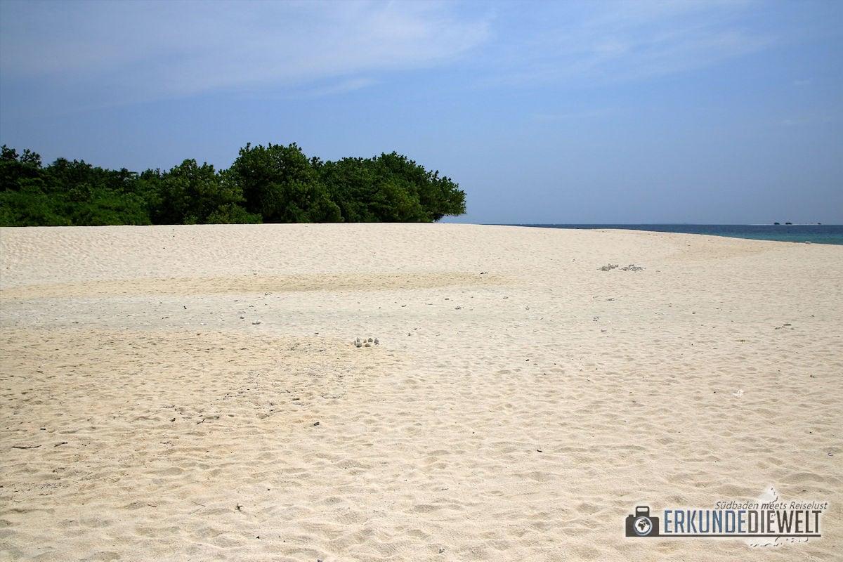 Breiter Strand, Ukulhas, Malediven