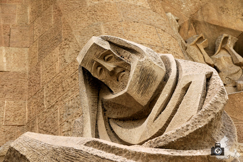 Famous and beautiful Sagrada Familia in Barcelona, Spain