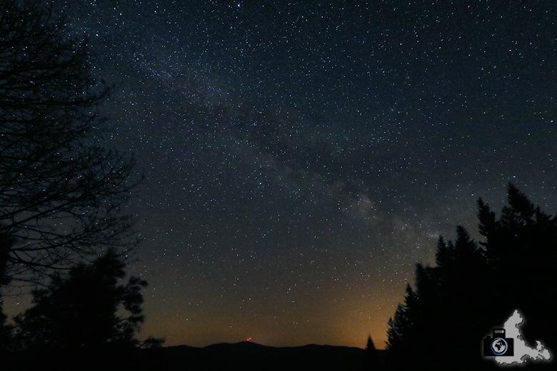 Tipps zum Fotografieren der Milchstraße - Milchstraße und Sternenhimmel vom Schauinsland aus gesehen