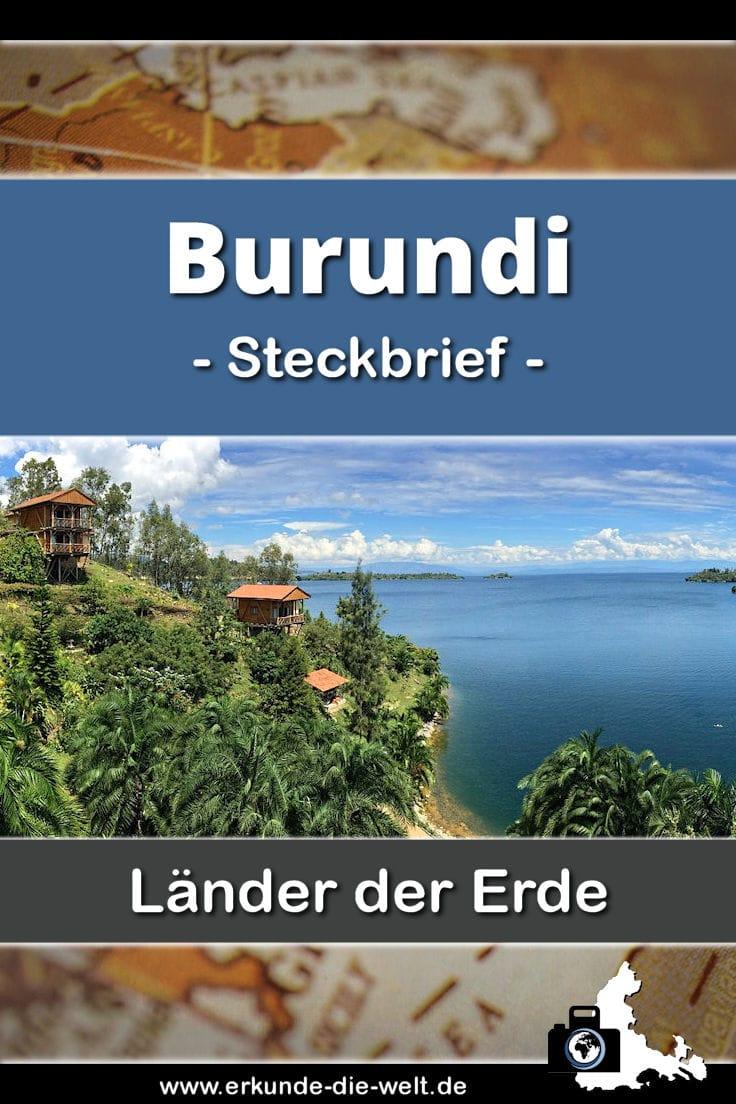 Steckbrief Burundi