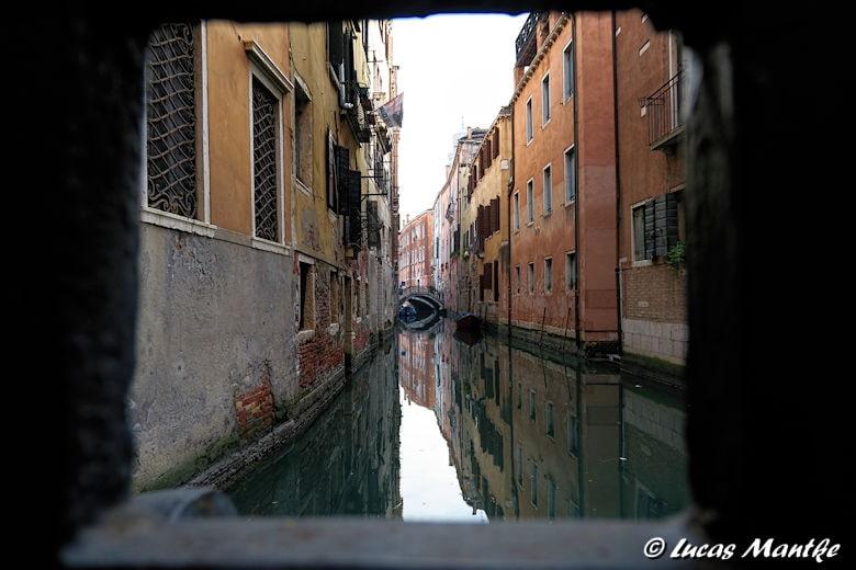 Kanal in Venedig - aufgenommen von Lucas