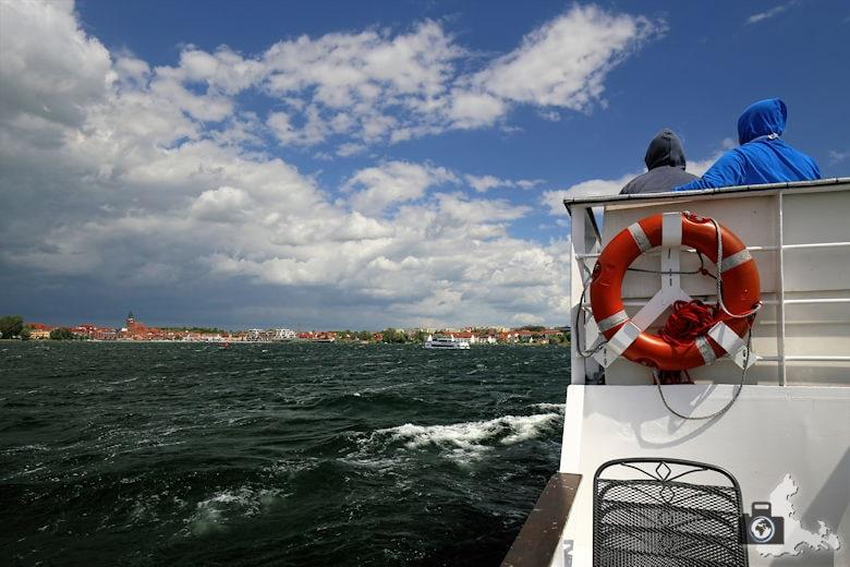 Bootsfahrt auf der Müritz