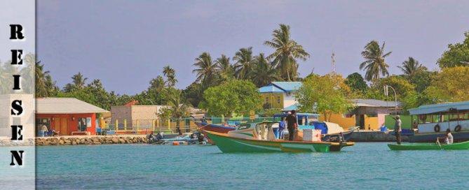 Anreise Malediven Flughafen Transport Ukulhas