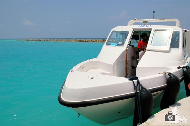 Malediven Speedboot Nevi Ukulhas