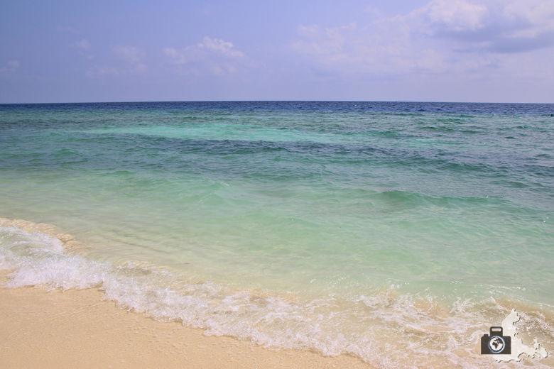 Malediven Ukulhas Strand Meer