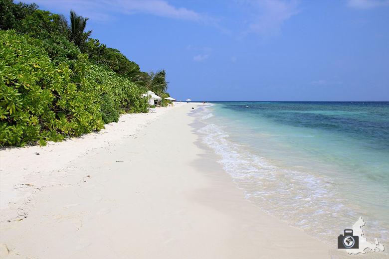 Malediven Ukulhas Sandstrand
