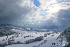 Hochburg Emmendingen im Winter, Deutschland