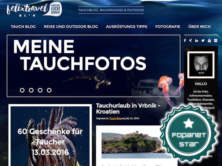 Fopanet Star felixtravelblog.de