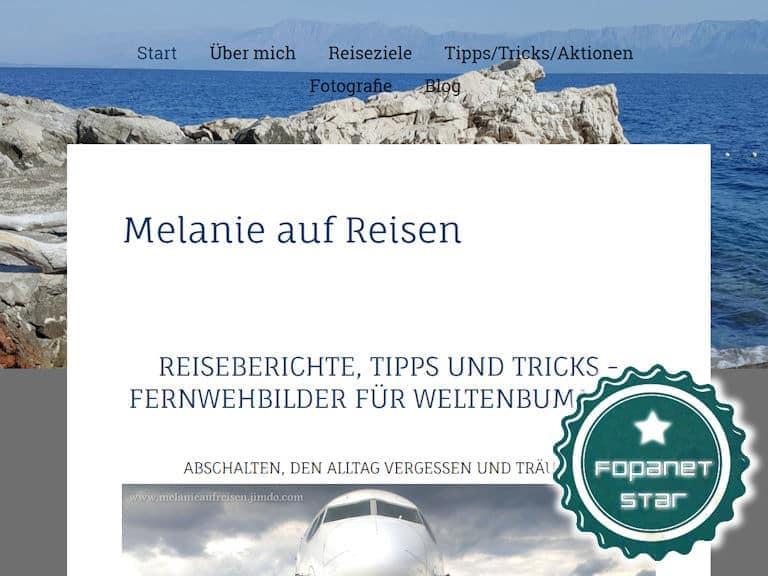 Fopanet Star melanieaufreisen.jimdo.com