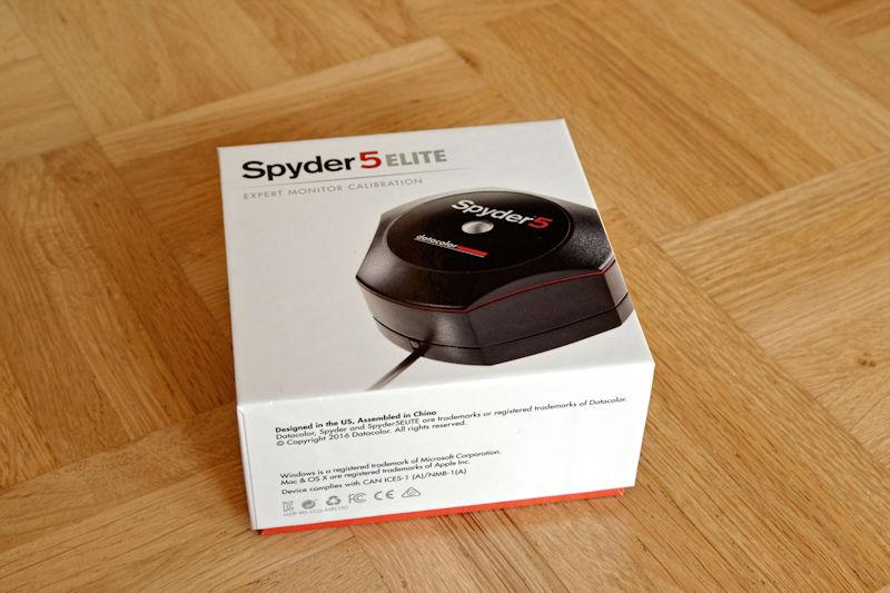 Monitor Kalibrierung mit dem Spyder 5 Elite