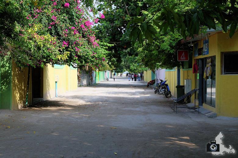 Strasse, Ukulhas, Malediven