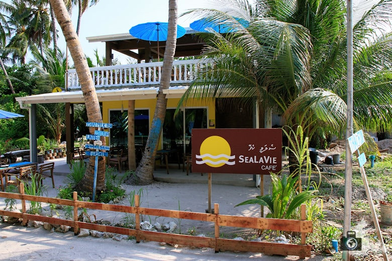 Ukulhas Malediven - SeaLaVie Cafe