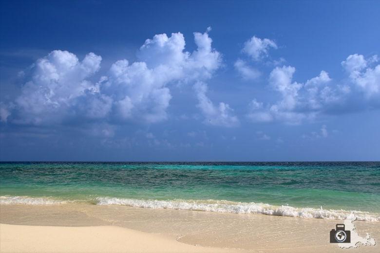 Ukulhas Malediven - Strand