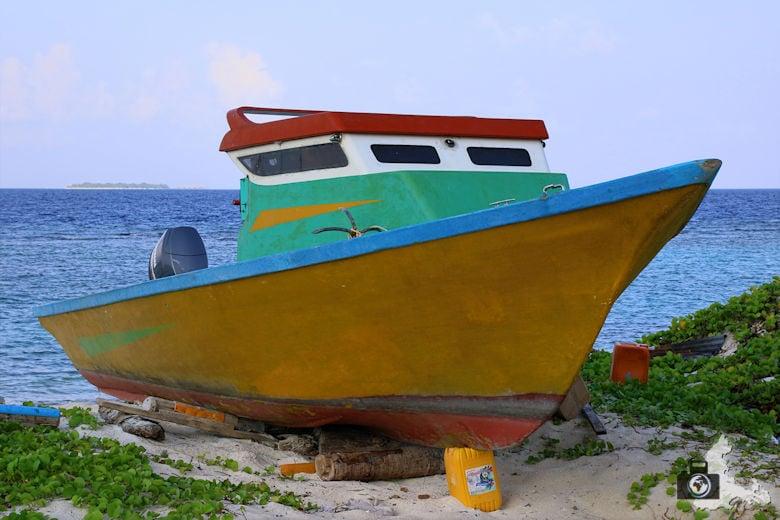 Ukulhas Malediven - Boot