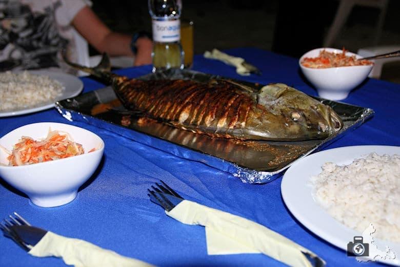 Fisch als BBQ