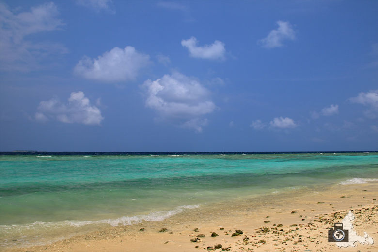 Meer auf Ukulhas, Malediven
