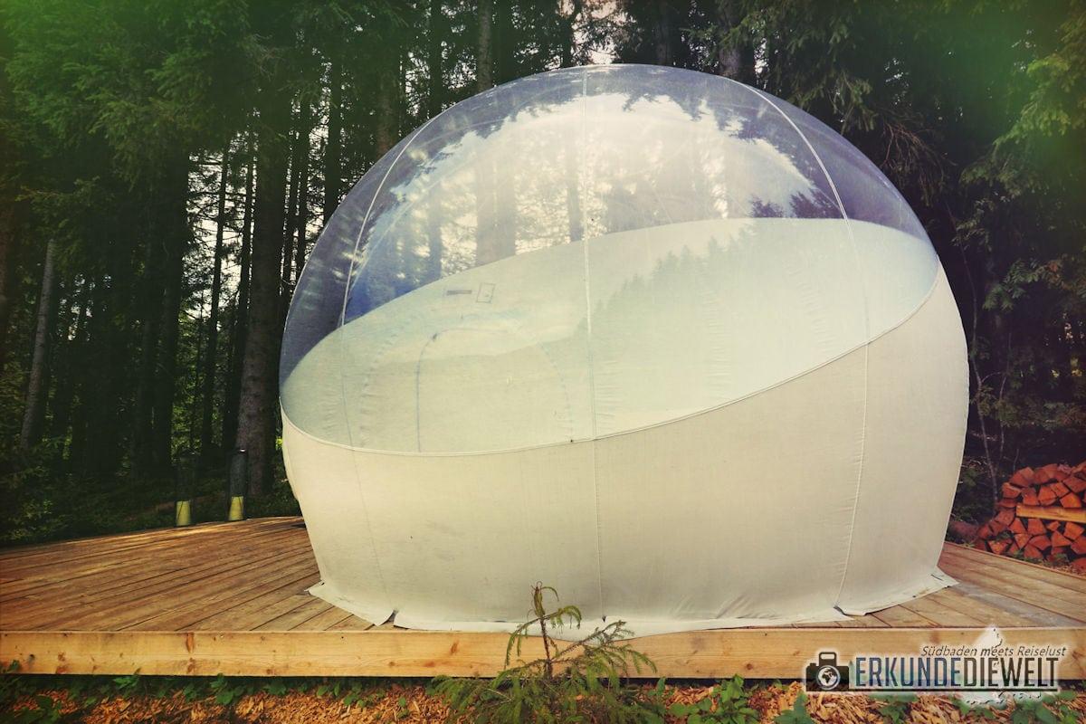 Bubble-Tent, Schwarzwald, Deutschland