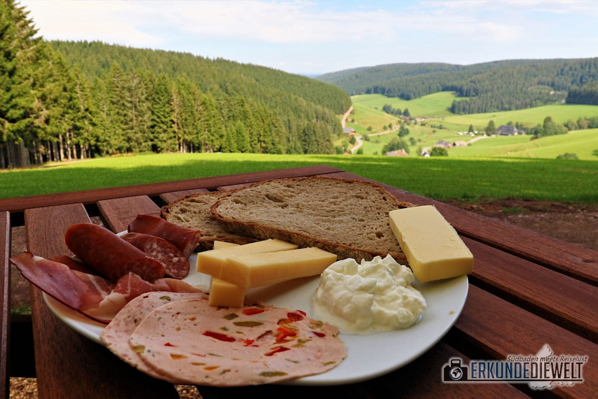 Vesper, Schwarzwald, Deutschland