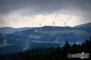 Nebelschwaden, Schwarzwald, Deutschland
