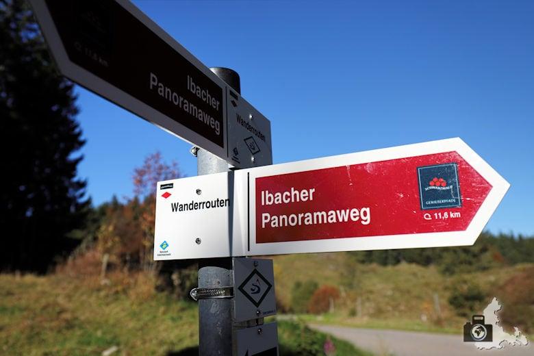 Ibacher Panoramaweg - Wegweiser