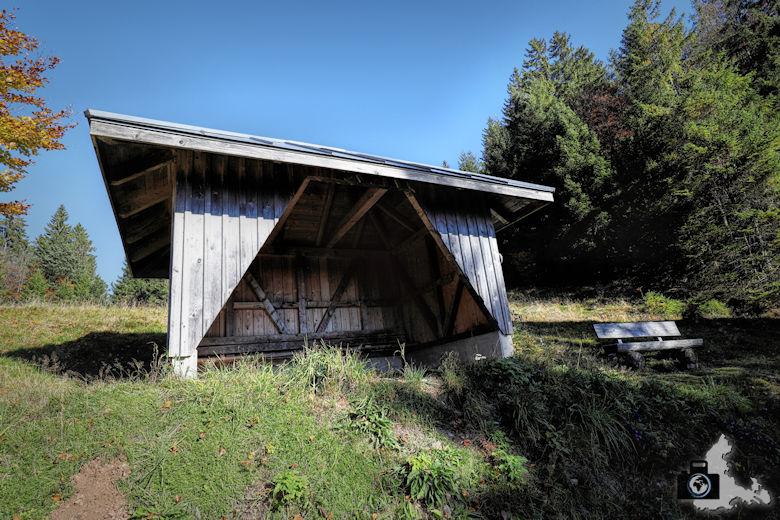 Ibacher Panoramaweg - Wanderhütte
