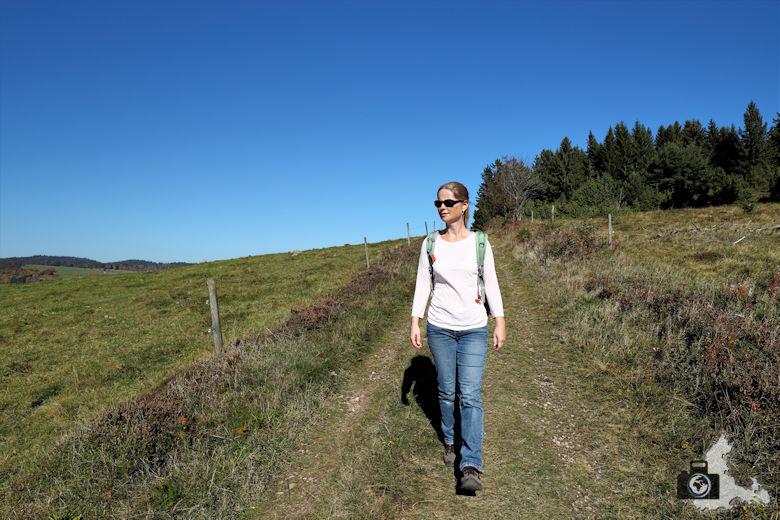 Ibacher Panoramaweg - Wanderin