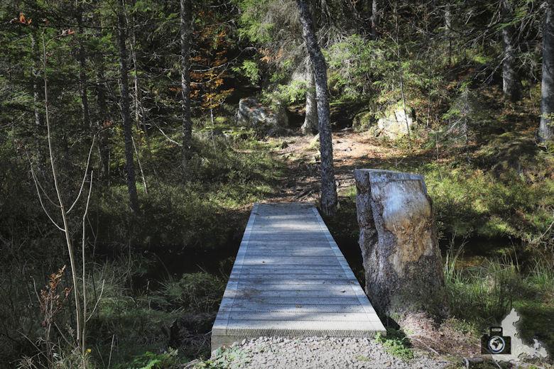 Ibacher Panoramaweg - Brücke