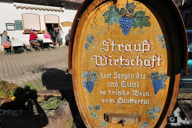 Vesperstube Haberstroh Straussenwirtschaft Glotterta