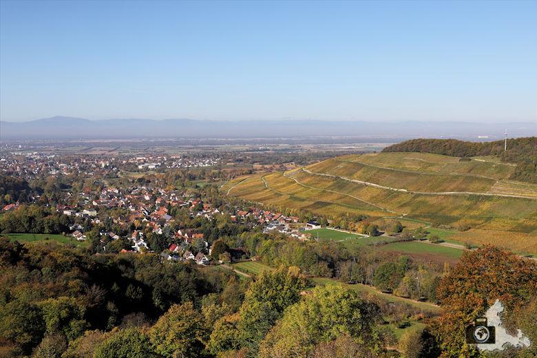 Badenweiler - Aussicht von Burg Baden