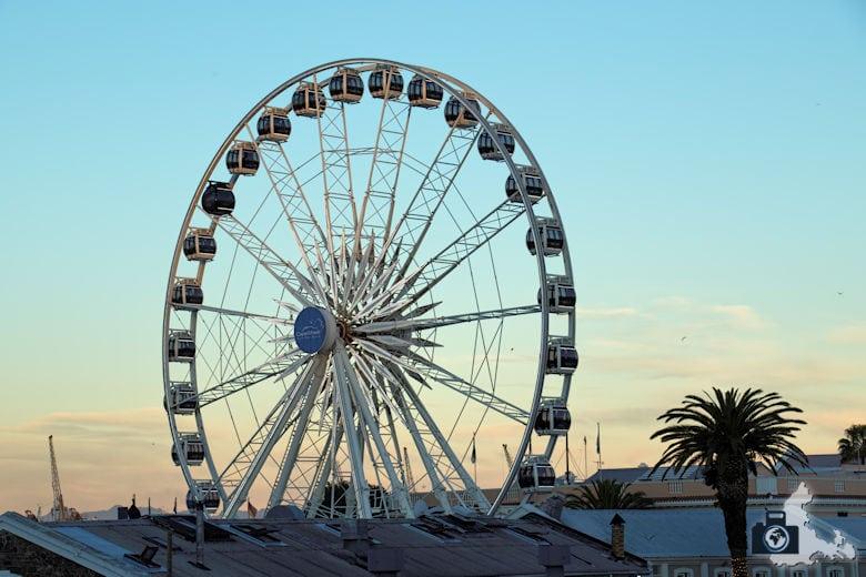 Kapstadt - Riesenrad an der Waterfront