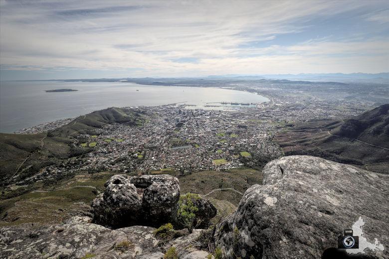 Kapstadt - Aussicht vom Tafelberg