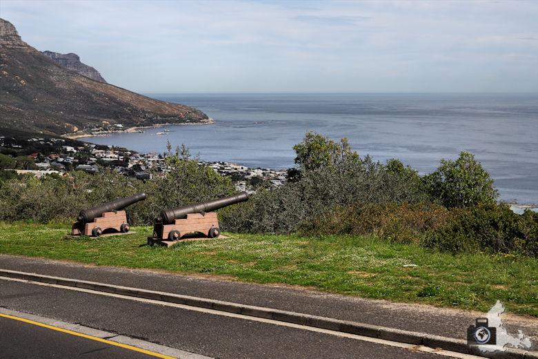 Kapstadt Kanonen nahe dem Tafelberg