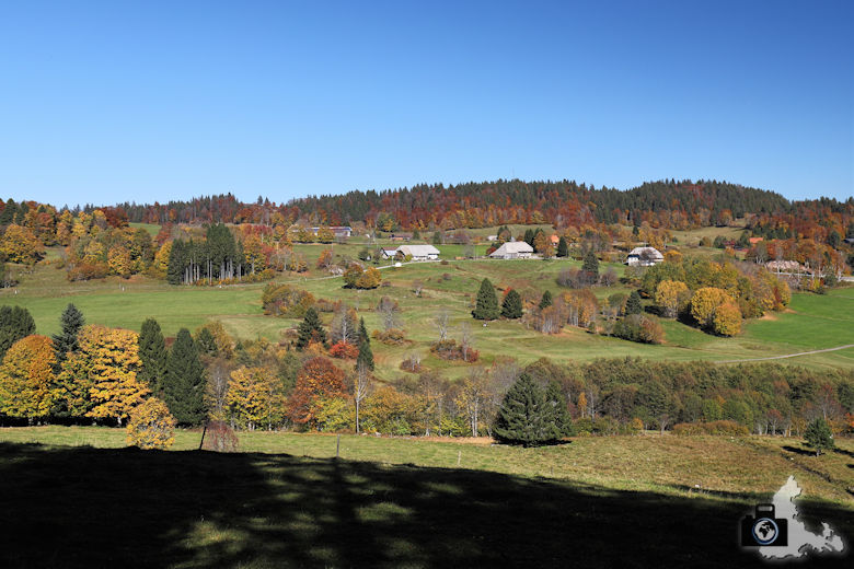Fotogramm Oktober - Ibacher Panoramaweg