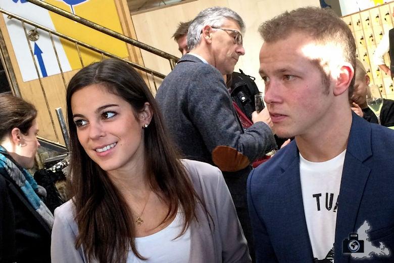 Fundorena - Fabian Hambüchen und Freundin Marcia