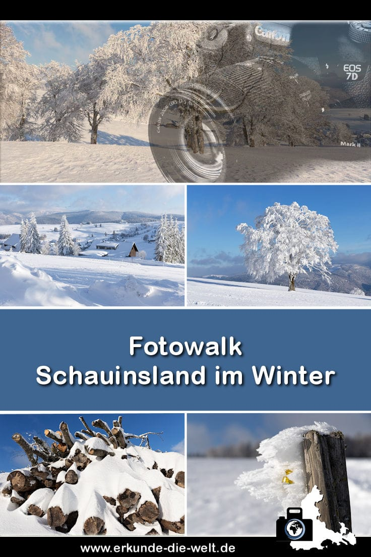 Fotowalk - Schauinsland im Winter