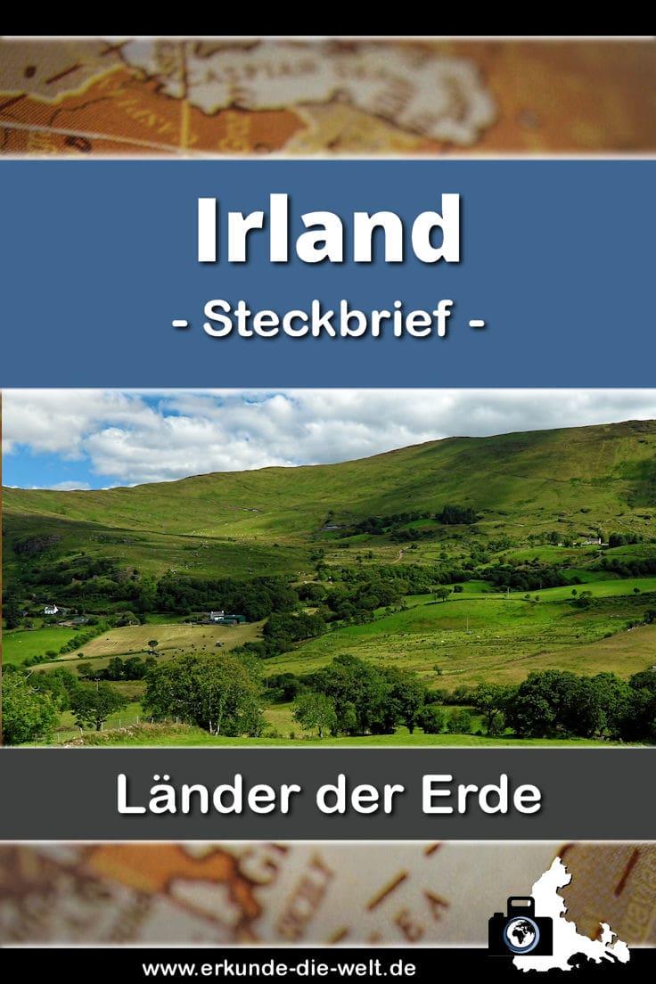 Steckbrief Irland