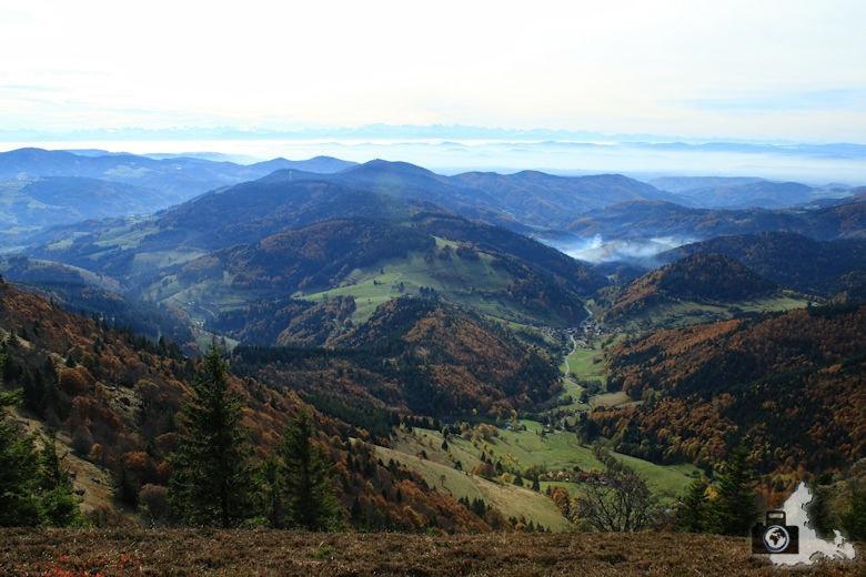 Schwarzwald Berge - Blick vom Belchen