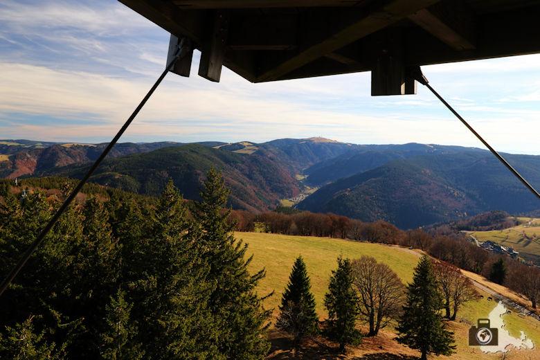 Schwarzwald Berge - Blick vom Schauinsland zum Feldberg