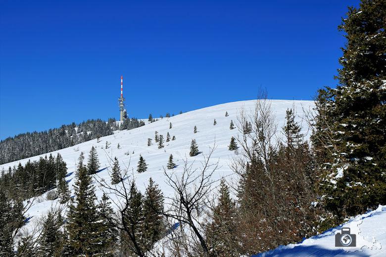 Schwarzwald Berge - Feldberg im Winter